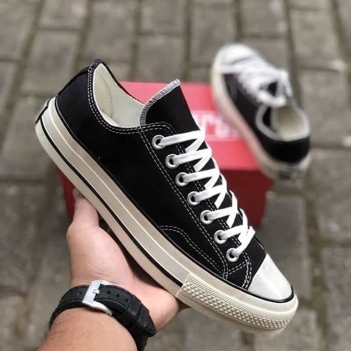 Converse 70s Low Black White For Size 37 38 39 40 41 42 43 44