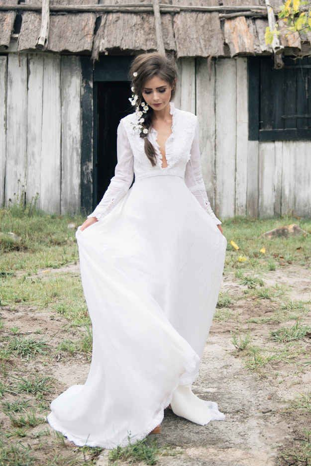 """""""Maisie"""" Vintage Dress   50 Dreamy Wedding Dresses You'll Fall In Love With"""