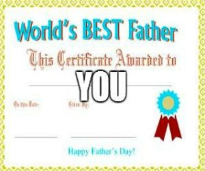 Free Father's Day Coupon Book