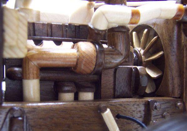 1995 peterbilt 379 truck and lowbed wood models for Wood floor for 379 peterbilt