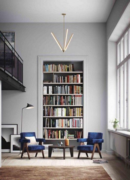 Grande bibliothèque intégrée | wohnen & so | Altbau ...