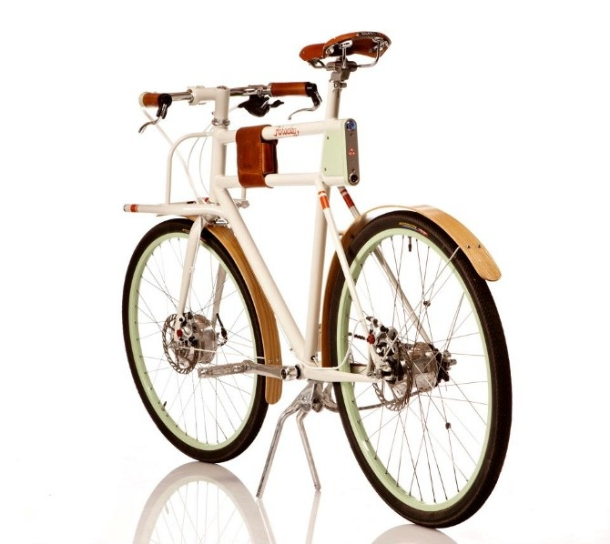 Faraday Bikes (It's electric!). from IDEO and Rock Lobster Bike Builders.