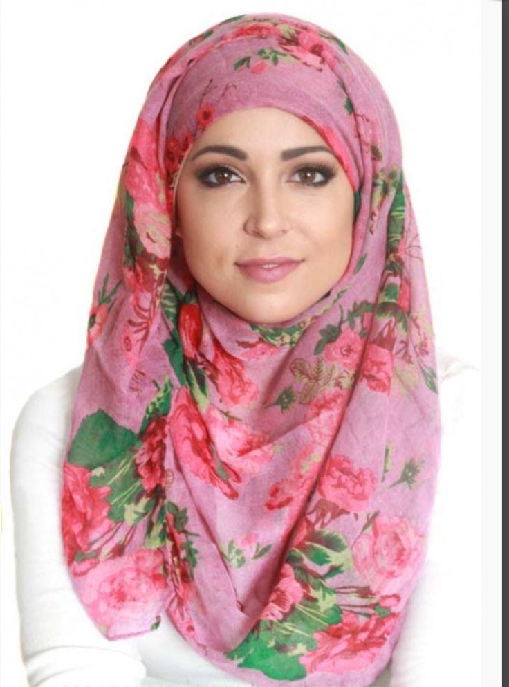 Light hijab www.uniquehijabs.com