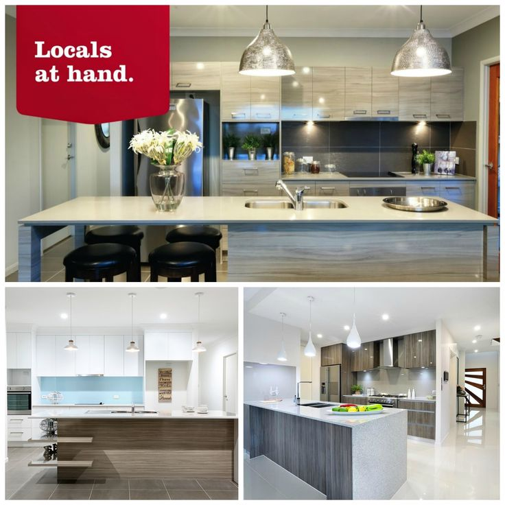 Are you searching for kitchen ideas?  Need inspiration? Here are few of our favourite GJ kitchen designs! #GJLocalBuilder #CustomDesign #KitchenIdeas #GJQLD ★ PIN ★ LIKE ★ SEND ★