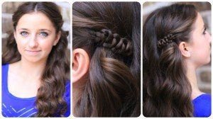 How to create a Sides-Up Slide-Up Hairstyle and more Hairstyles from CuteGirlsHairstyles.com