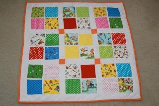 Berenstain Bears Moda fabric quilt