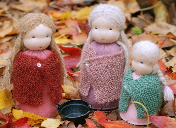 Woody & Purl storytelling dolls