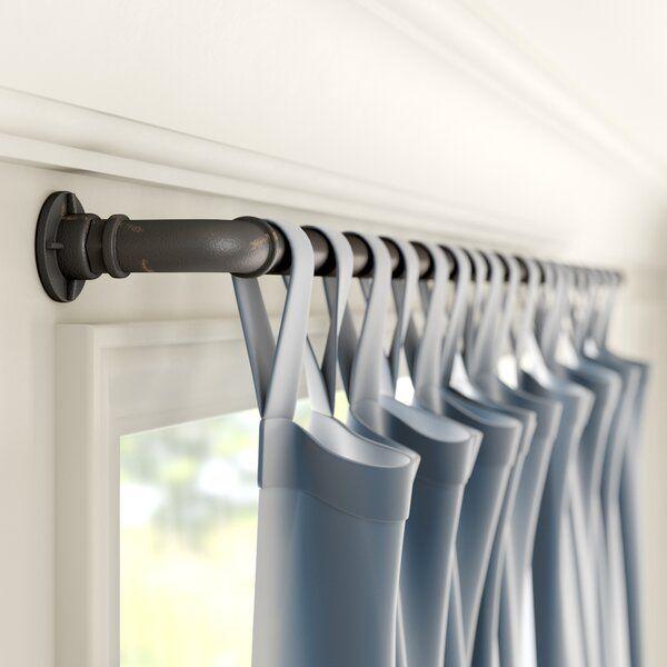 Hoffman Industrial Single Curtain Rod Hardware Set In 2020