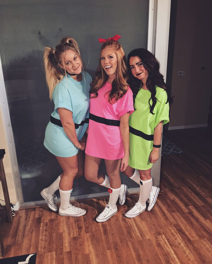 powerpuff girl halloween costumes - 3 Girl Costumes Halloween