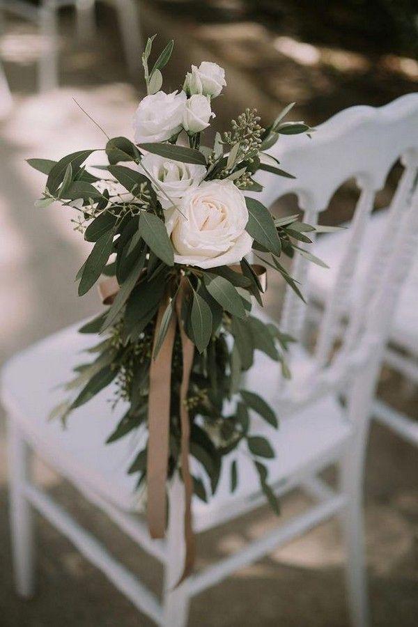 Chic erröten und Grün Hochzeit Gang Ideen #obde # weddingideas2019 – #Aisle #bl …   – Decoration hochzeit