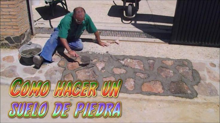 Aprende el proceso para instalar suelos de piedra de - Suelo de piedra ...