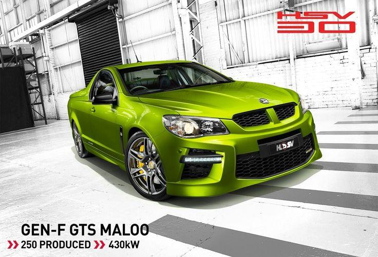 HSV GEN-F GTS Maloo