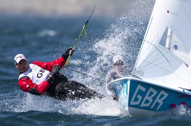 London 2012 #Olympic Fever - #Sailing 470 Luke Patience