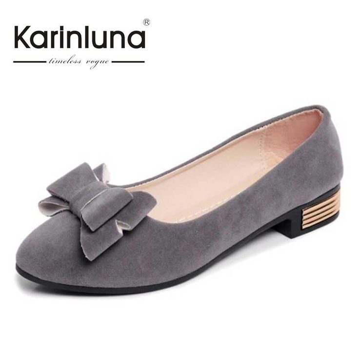 $21.70 (Buy here: https://alitems.com/g/1e8d114494ebda23ff8b16525dc3e8/?i=5&ulp=https%3A%2F%2Fwww.aliexpress.com%2Fitem%2FKarinLuna-Fashion-Style-Sweet-Women-Pumps-Hot-Sale-Bowtie-Low-Heels-Slip-On-Shoes-Ladies-Little%2F32719430286.html ) KarinLuna Fashion Style Sweet Women Pumps Hot Sale Bowtie Low Heels Slip On Shoes Ladies Little Pointed Toe Spring Autumn Pumps for just $21.70