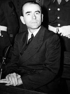Albert Speer during the Nuremberg Trials, Germany, 1946; Photographer: Hannes Karnoefel