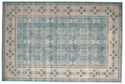 Zaina - Blå teppe 200x300