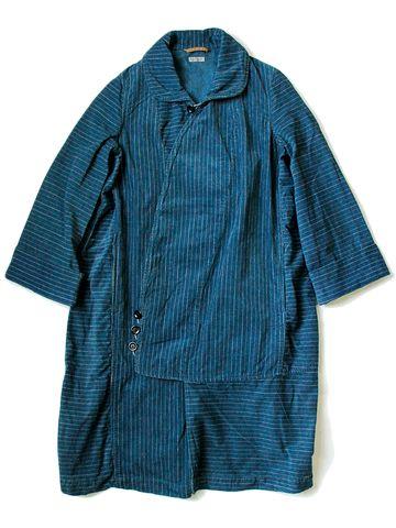 WEB SHOP - KAPITAL -- Love this indigo jacket!