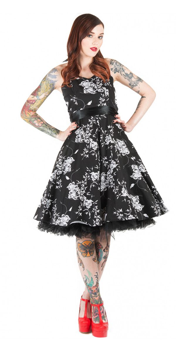 Best For Last Dress in Black Floral