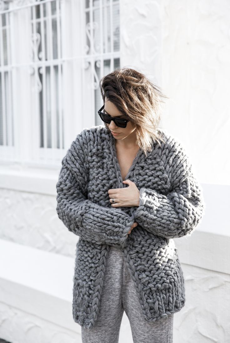 86 best Chunky Knits images on Pinterest | DIY, Cardigans and Clothes