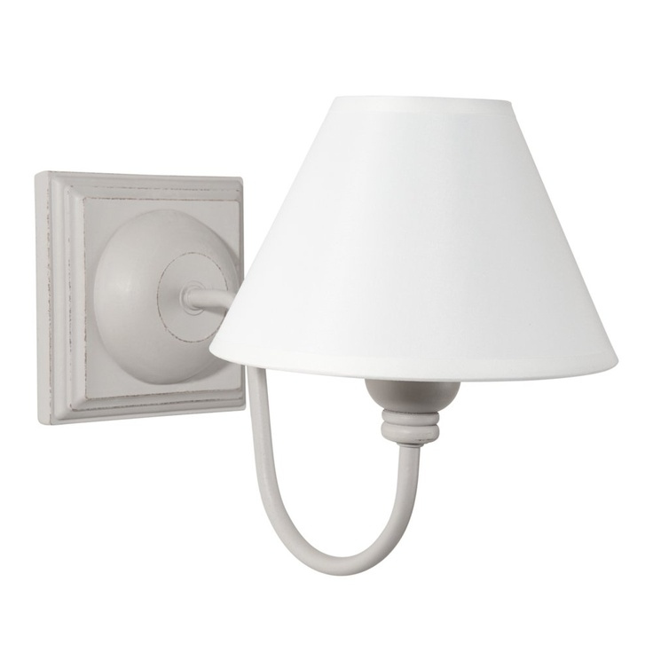 Wandlamp Alesia grijs
