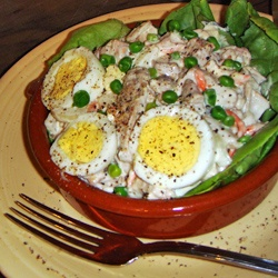 How to make Ensalada de Pollo (Cuban Chicken Salad) Easy Cuban and Spanish Recipes
