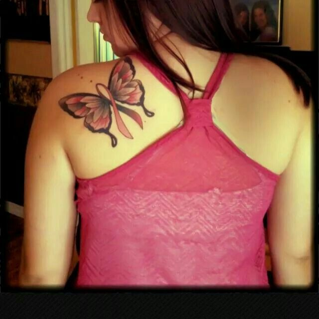 Survivor Tattoos: 44 Best Tattoo's Breast Cancer Survivor Images On