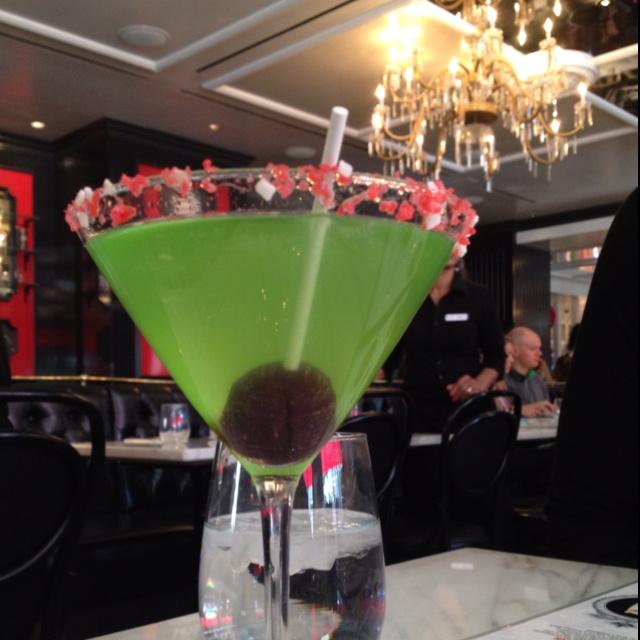 Blow Pop Martini @ The Sugar Factory in La Vegas ...