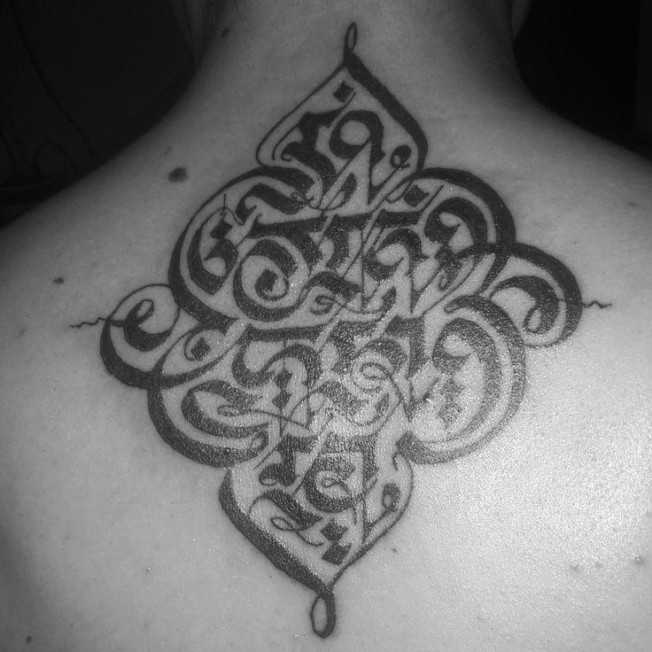 Moksha tattoo #moksha sanskrit script