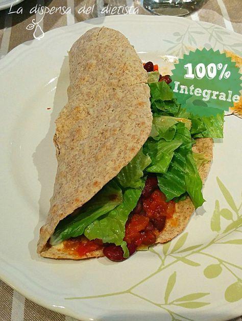 La dispensa del dietista: Piadine integrali fatte in casa