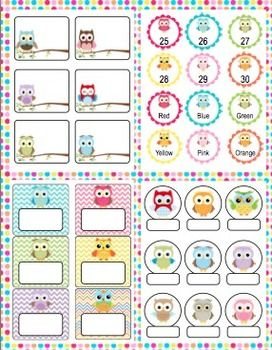 Owl Theme Back to School Mega Pack- Make this school year a hoot with this mega pack! It is loaded with owl theme classroom decorations, open house activities, first week activities, parent communication, and more! $