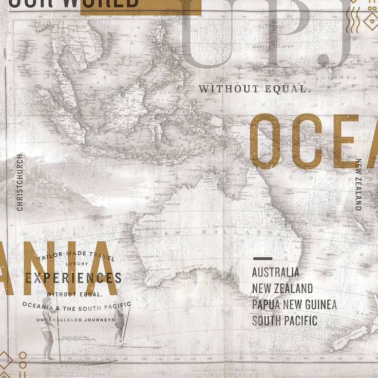 Map of Oceania by Andrew Littman