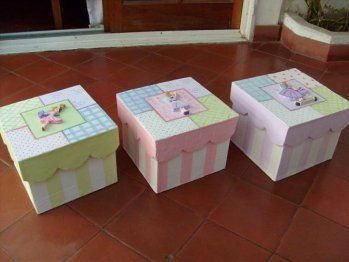 imágenes de papeleras con decoupage para bebes - Buscar con Google