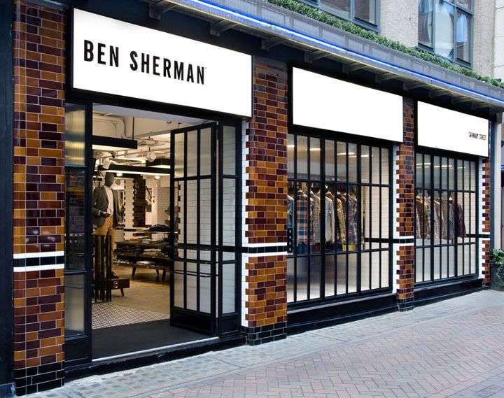 "Ben Sherman Store on Carnaby Street - because my love for Ben Sherman has thus far been confined to an ""Internet romance""!"