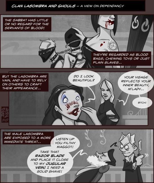 Vampires Suck - 155: Intermission : Lasombra and ghouls