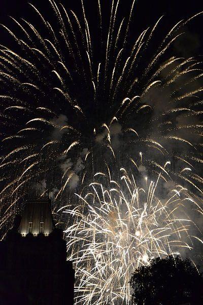 Ottawa, Canada Day #Ottawa #Canada #CanadaDay #Fireworks #celebration