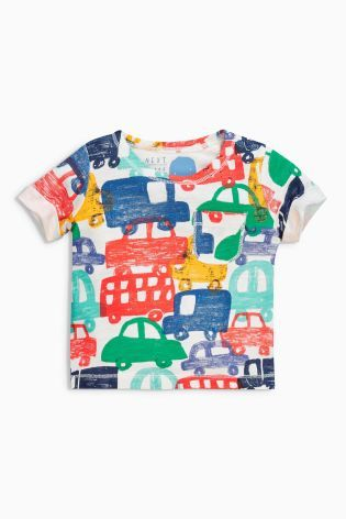 Buy Multi Short Sleeve T-Shirts Three Pack (0mths-2yrs) from the Next UK online shop