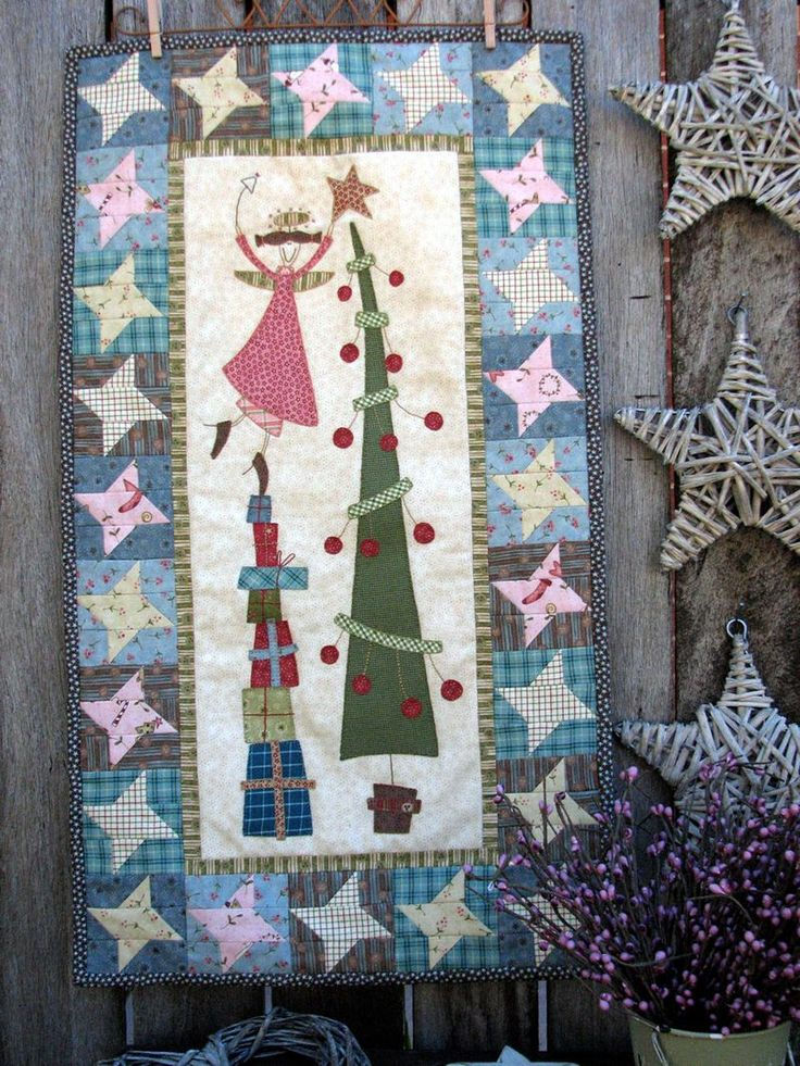 Quilted Wall Hanging Patterns 327 best quilts ~ small wall hangings images on pinterest | mini