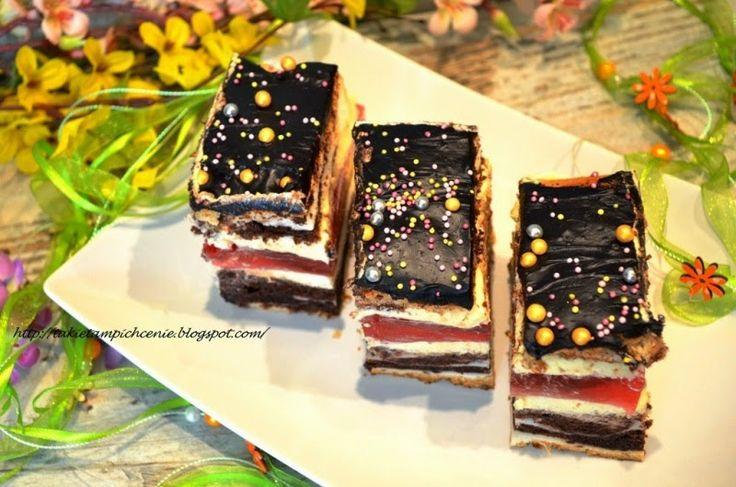 Smak, zapach, kolor...: Ciasto oczy Carycy