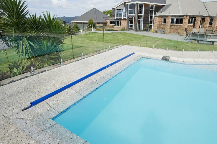 in ground swimming pool by Mayfair Pools