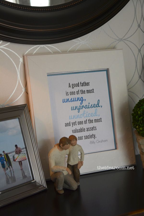Father's Day Printables | theidearoom.net