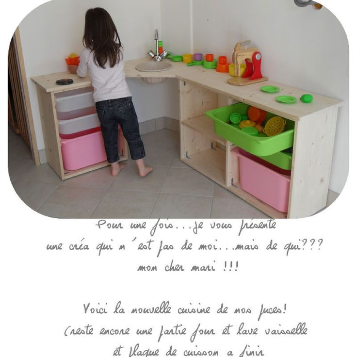 les 25 meilleures id es de la cat gorie cuisines enfant sur pinterest jeu de cuisine diy. Black Bedroom Furniture Sets. Home Design Ideas