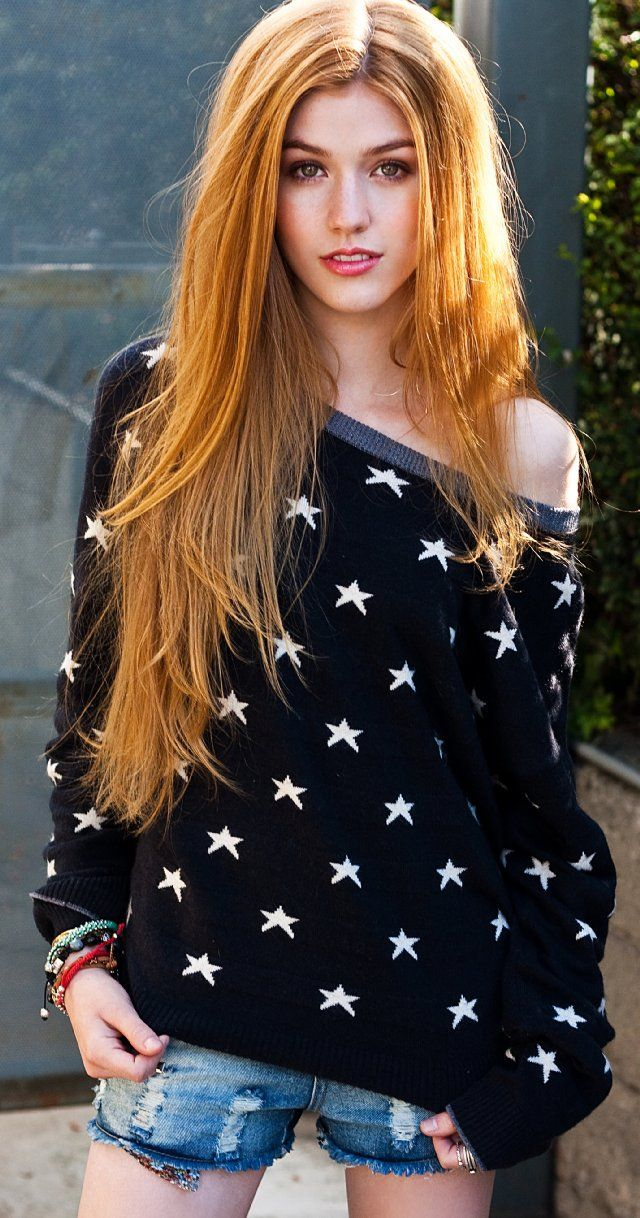 This is an unbelievable ginger Girl. What natural beauty. What wonderful long ginger hair with a slight twisty curl in it. by:Katherine McNamara