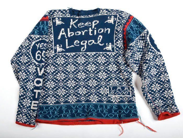 Feminist knitting