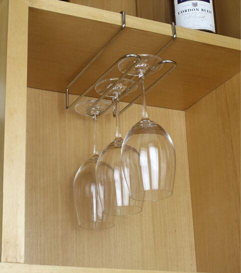 versandkostenfrei wein glashalter bar hängenden brille edelstahl(China (Mainland))