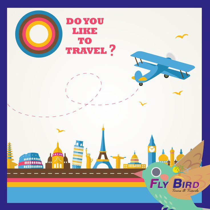 Do you like to Travel? #travel #flybird