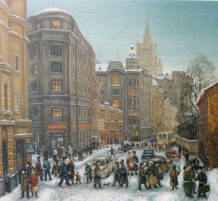 Moscow, Arbat Street 1986  (Sergey Volkov)