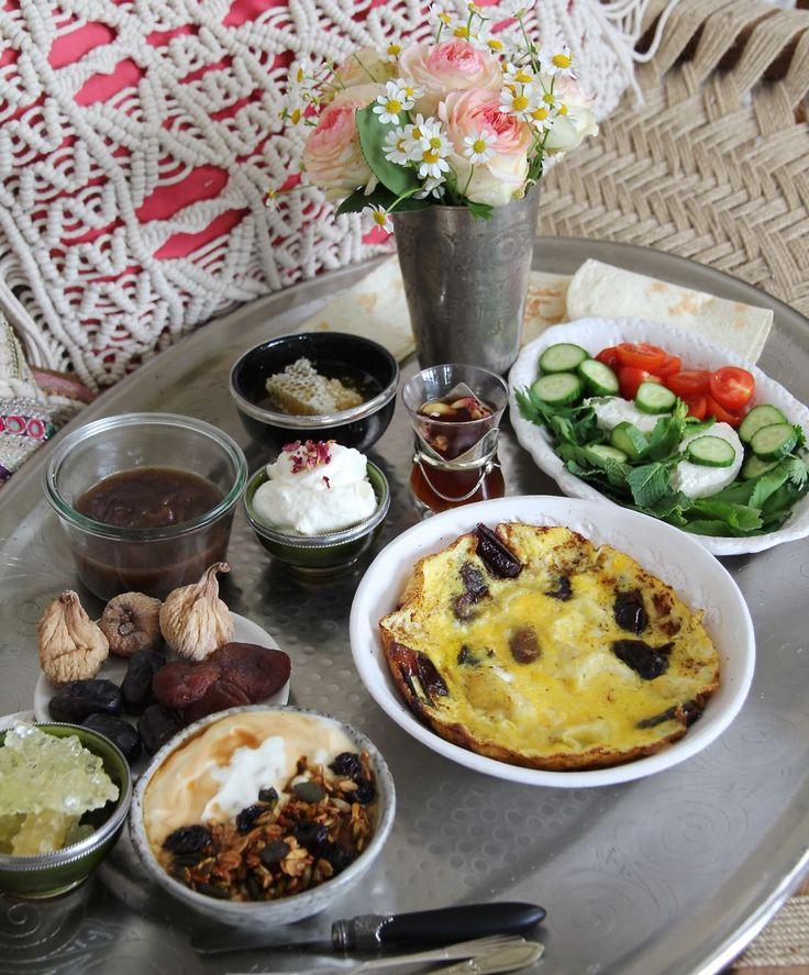 AJIL-GRANOLA – persisches Frühstück zum Muttertag <3 Labsalliebe
