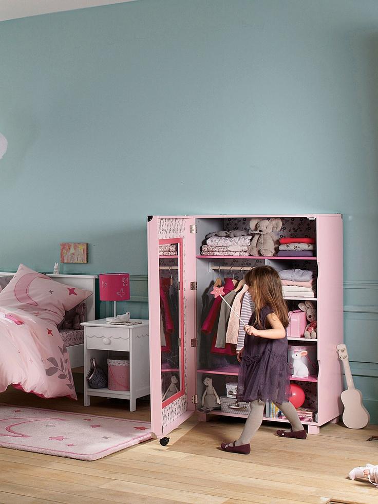 armoire pour chambre fille armoire 2 portes pour chambre au style baroque armoires enfant. Black Bedroom Furniture Sets. Home Design Ideas