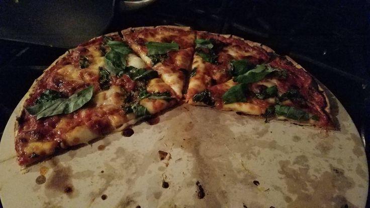 Margarita Pizza #pizza #food #foodporn #yummy #love #dinner #salsa #recipe
