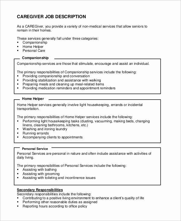 Caregiver Job Description Resume Awesome Sample Caregiver Resume 7 Examples In Word Pdf In 2020 Caregiver Jobs Caregiver Skills Teacher Resume Examples